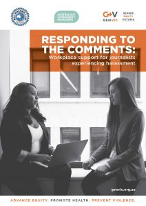 Responding to the Comments: Workplace support for journalists experiencing harassment