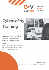 Cybersafety training flyer